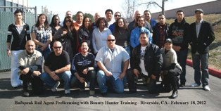 Riverside Fugitive Recovery Agent Training School
