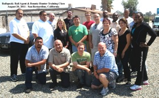 Inland Empire Fugitive Recovery Classes