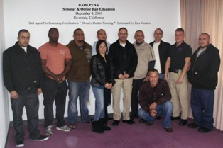 Fugitive Recovery Agent Training in Riverside CA
